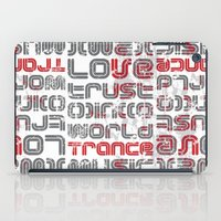 springsteen iPad Cases featuring Trust in Trance Music by Sitchko Igor