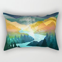 Under the Starlight Rectangular Pillow