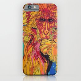 2016: Year of the Monkey iPhone Case