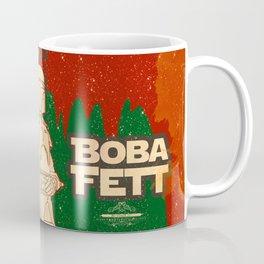 "Boba Fett Movie Poster ""Bounty Hunter"" Giclee Art Print/ Geekery Poster / Fan Art Coffee Mug"