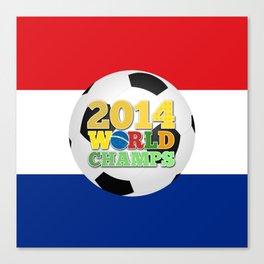 2014 World Champs Ball - Holland Canvas Print