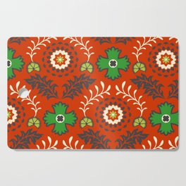 BOHEMIAN FARMHOUSE RED Cutting Board