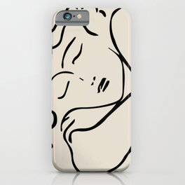 The sleeping lady- Henri Matisse iPhone Case