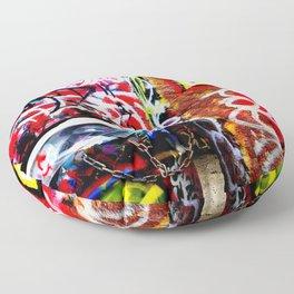 Grafitti Floor Pillow