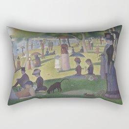 A Sunday on La Grande Jatte,  Georges Seurat Rectangular Pillow