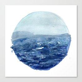 Around the Ocean Canvas Print