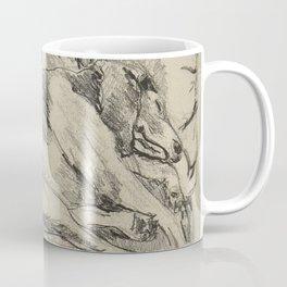 Elwood on the sofa Coffee Mug