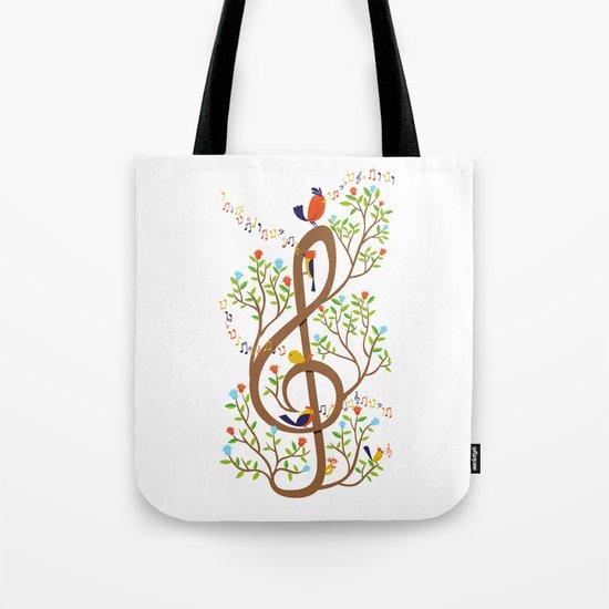 Song birds Tote Bag