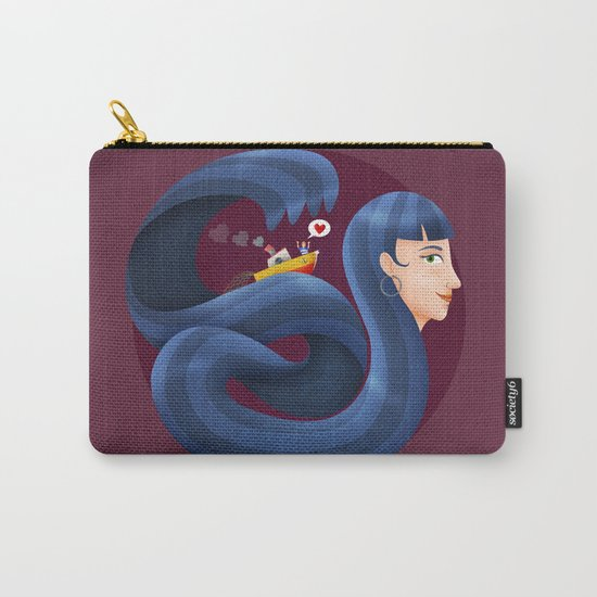 Conquer me Carry-All Pouch