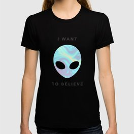 Alien baby (I want to believe) T-shirt