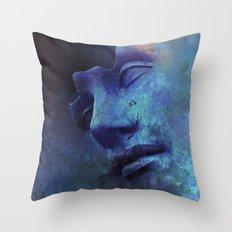 Strange Face Throw Pillow