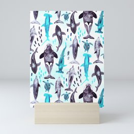 Ocean Animals Mini Art Print