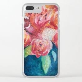 La vie en fleurs Clear iPhone Case