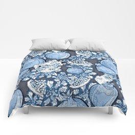 Persephone: Stormy Blue Skys  Comforters