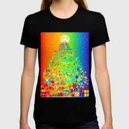 Ribbon Christmas Tree T-shirt
