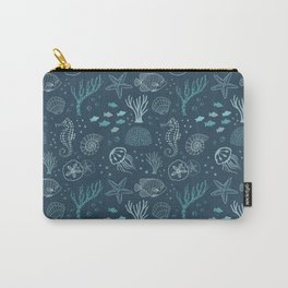 The Blue Deep Carry-All Pouch