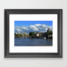 View from the Seine Framed Art Print