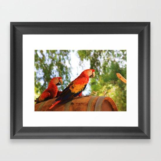 ~Birdy Beauty's~ Framed Art Print
