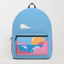 Our Sunset Backpack