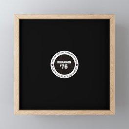 76 Framed Mini Art Print