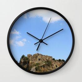 Civita di Bagnoregio Wall Clock