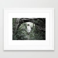 uncharted Framed Art Prints featuring Uncharted Territory by Brooke Ryan Photography