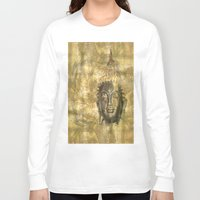 antique Long Sleeve T-shirts featuring Buddha antique by Digital-Art