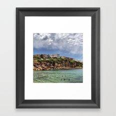 Gordon's Bay Framed Art Print