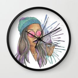 Miss Jane Wall Clock