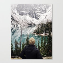 We Left Boredom at the Trailhead Canvas Print