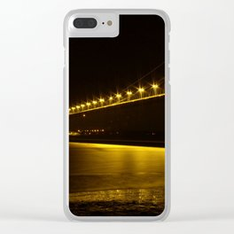 River of Gold- Humber Bridge Clear iPhone Case