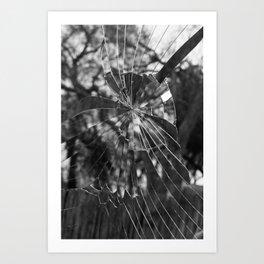 Shattered.  Art Print