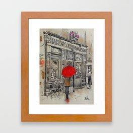 SHAKESPEARE and CO Framed Art Print