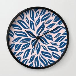 Sunburst Glam #2 #classicblue #decor #art #society6 Wall Clock