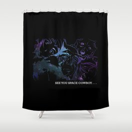 Space Cowboy Shower Curtain