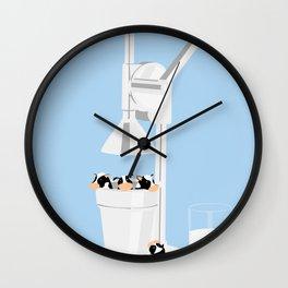 Milkmaid 5000 Wall Clock