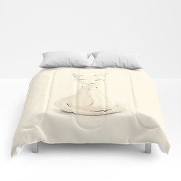 Kitty, sketch Comforters