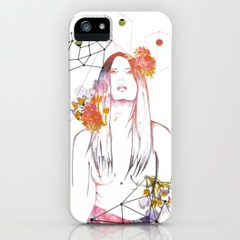 """Natural Nude"" Mariam&Plástica iPhone Case"