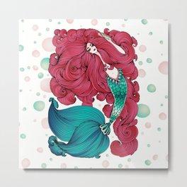 Marmaid Metal Print