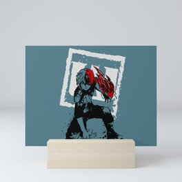 Todoroki Hero Academia Mini Art Print