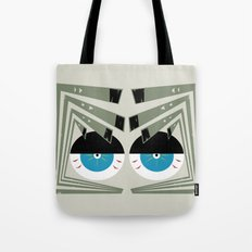 Zombie Eyes Tote Bag