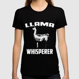 Llama Whisperer T-shirt