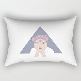 FEARLESS GIRL Rectangular Pillow