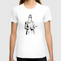nurse T-shirts featuring Cigarette Nurse by Ben Talatzko