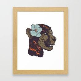 CONCHEETAH! Framed Art Print
