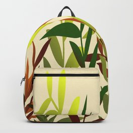 Colored Leaves yellow - Illustration Backpack