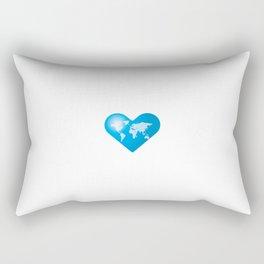 Love the Earth_b Rectangular Pillow