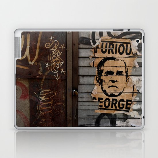Furious George Laptop & iPad Skin
