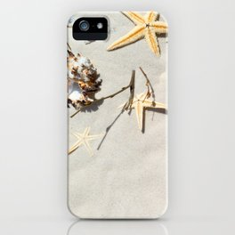 Beach Shore Scene iPhone Case