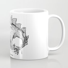 Figure One: Stegosaurus Coffee Mug